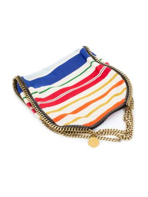 Falabella Striped Handbag by Stella McCartney - Le Dressing Monaco