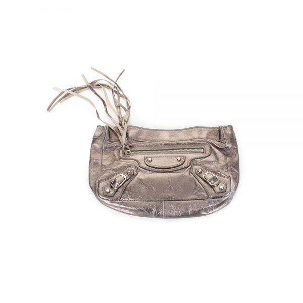 Bronze City Pochette by Balenciaga - Le Dressing Monaco