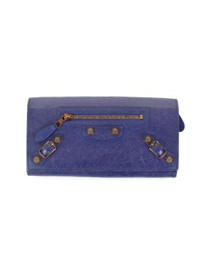 Purple City Wallet by Balenciaga - Le Dressing Monaco