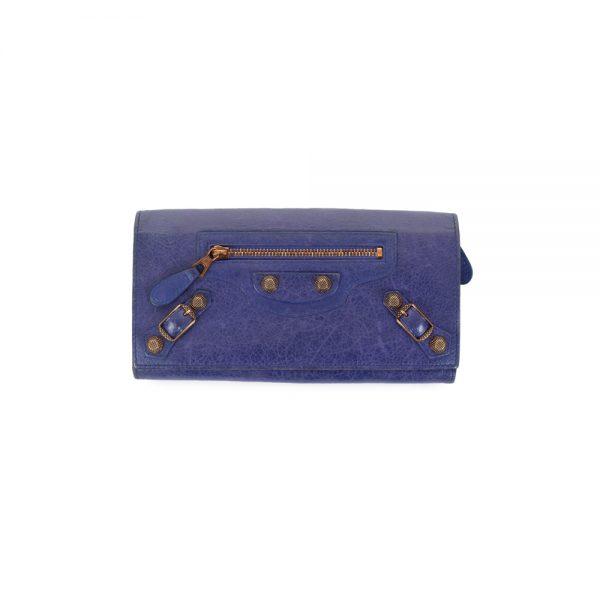 Purple City Wallet by Balenciaga - Le Dressing Monaco