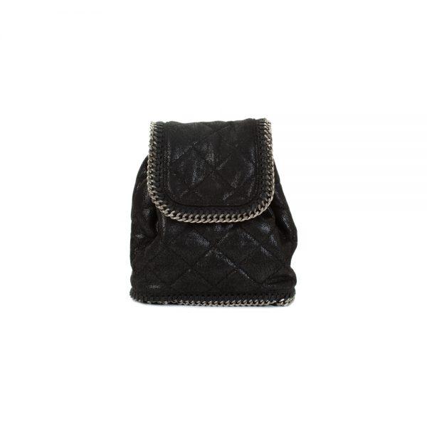 Shaggy Deer Mini Falabella Backpack by Stella McCartney - Le Dressing Monaco