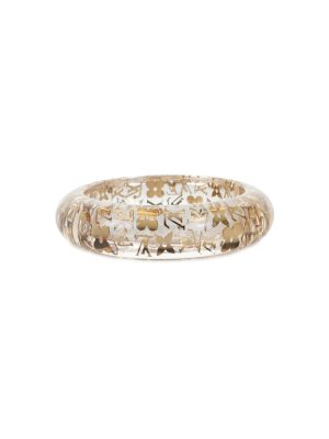 Transparent and Gold Plastic Bracelet by Louis Vuitton - Le Dressing Monaco