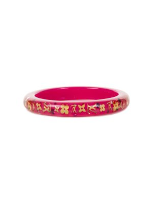 Pink and Gold Plastic Bracelet by Louis Vuitton - Le Dressing Monaco