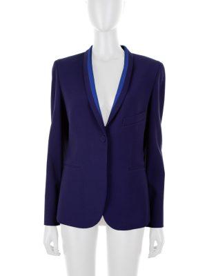 Cobalt Blue Wool Blazer by Hermès - Le Dressing Monaco
