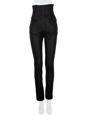 High Waist Black Net Pants by Chanel - Le Dressing Monaco