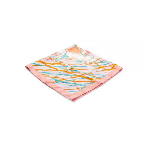 En Avant Toute Silk Scarf by Hermès - Le Dressing Monaco