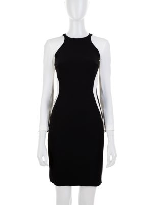 Black and White Tight Pencil Dress by Stella McCartney - Le Dressing Monaco