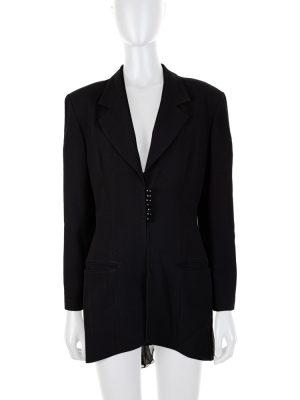 Vintage Blazer Transparent Veiled Back by Christian Dior - Le Dressing Monaco