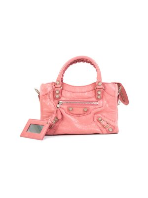 Pink Mini City Crossbody Handbag by Balenciaga - Le Dressing Monac