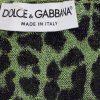 Green Lurex Leopard Sleeveless Top by Dolce e Gabbana - Le Dressing Monaco