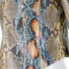 Colored Python Short Zipped Jacket by Chanel - Le Dressing Monaco