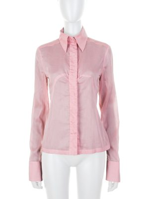 Old Pink Light Cotton Shirt by Chanel - Le Dressing Monaco