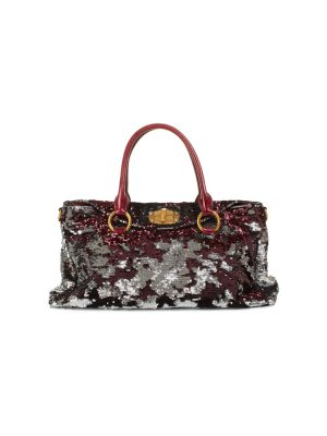 Bicolor All Sequin Embellished Handbag by Miu Miu - Le Dressing Monaco