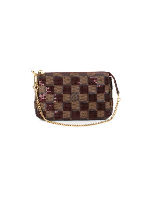 Mini Crossbody Pochette Sequin Damier by Louis Vuitton - Le Dressing Monaco