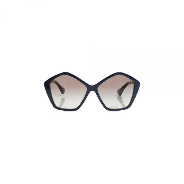 Pentagonal Blue Sunglasses by Miu Miu - Le Dressing Monaco