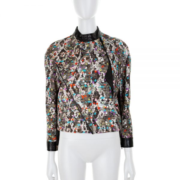 Multicolored Bouclé Perfecto by Roberto Cavalli - Le Dressing Monaco