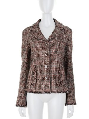 Wool and Mohair Multicolored Bouclé Jacket by Chanel - Le Dressing Monaco