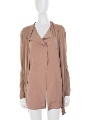 Nude Silk Shirt and Cardigan by Brunello Cucinelli - Le Dressing Monaco
