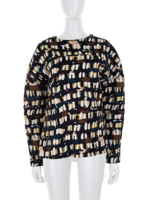 Printed Neoprene Sweatshirt by Marni - Le Dressing Monaco
