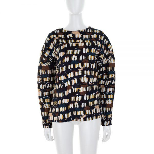 Printed Neoprene Sweatshirt by Marni - Le Dressing Monaco