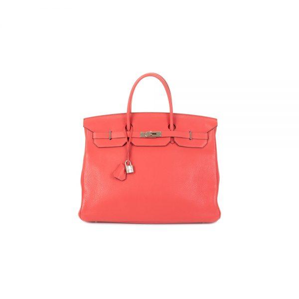 Birkin 40 Pivoine Taurillon Clémence Leather by Hermès - Le Dressing Monaco