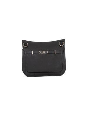 Jypsière 28 Black Togo Leather by Hermès - Le Dressing Monaco