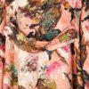 Pink Floral Pattern Coat by Dolce e Gabbana - Le Dressing Monaco