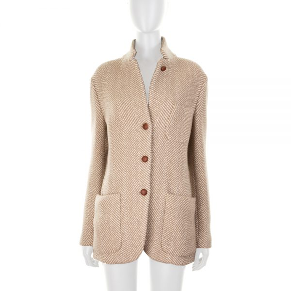Cashmere Tweed 2 Pocketed Jacket by Loro Piana - Le Dressing Monaco