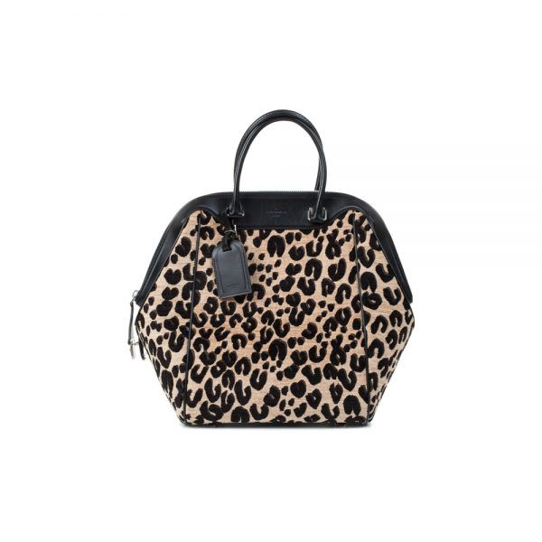 Limited Edition Leopard North South Handbag by Louis Vuitton - Le Dressing Monaco