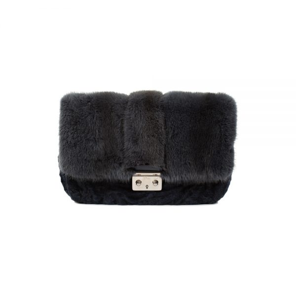Miss Dior Mink Persian Lamb Flap Bag by Christian Dior - Le Dressing Monaco