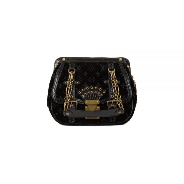 Limited Edition Velvet Aligator Gracie Bag by Louis Vuitton - Le Dressing Monaco
