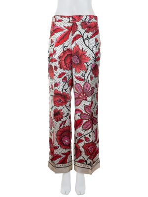 Gucci à Arles Flower Pattern Silk Pants by Gucci - Le Dressing Monaco