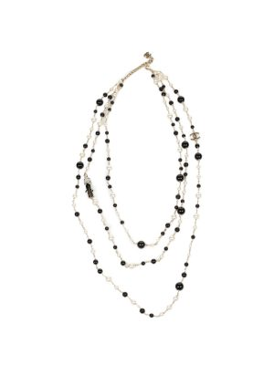 100th Anniversary 3 Strand Pearl Necklace by Chanel - Le Dressing Monaco