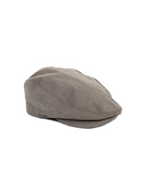 Grey Stripped Cotton Cap by Dolce e Gabbana - Le Dressing Monaco