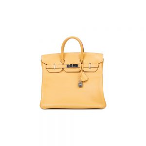 Birkin 40 Natural Sable Fjord Leather by Hermès - Le Dressing Monaco