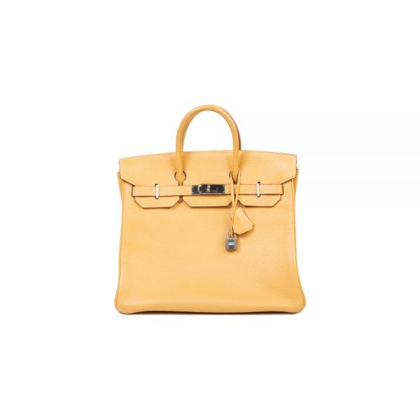 Birkin 40 Natural Sable Fjord Leather by Hermès - Le Dressing Monaco