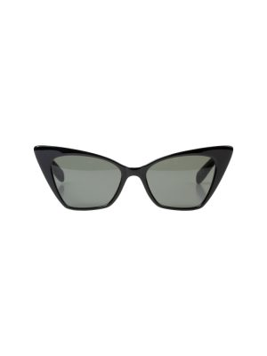 Papillon Black Sun Glasses by Saint Laurent - Le Dressing Monaco