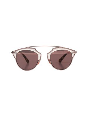 Pink Gold Sun Glasses by Christian Dior - Le Dressing Monaco