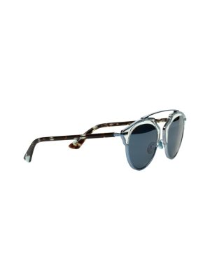 Blue Silver Sun Glasses by Christian Dior - Le Dressing Monaco