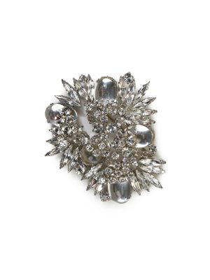 Crystals And Glass Brooch by Sonia Ryckiel - Le Dressing Monaco