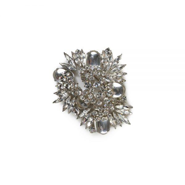 Crystals And Glass Brooch by Sonia Ryckiel - Le Dressing Monaco