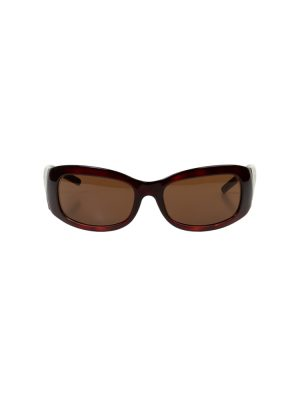 Brown FF Logo Branches Sun Glasses by Fendi - Le Dressing Monaco