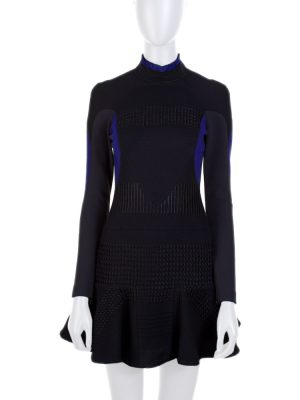 Blue Black Skating Shaped Dress by Stella Mc Cartney - Le Dressing Monaco