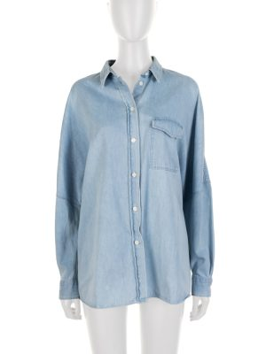 Blue Long Sleeved Denim Shirt by Acne Studio - Le Dressing Monaco