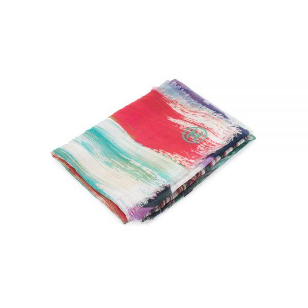 Multi Colored Cashmere Schale by Chanel - Le Dressing Monaco
