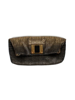 Black Gold Monogram Quilted Jacquard Clutch by Louis Vuitton - Le Dressing Monaco