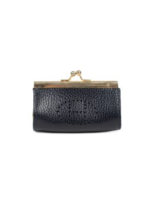 Black Metal Leather Purse by Hermes - Le Dressing Monaco