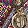 Multicolored Butterfly Embroidered Lady Di Bag by Christian Dior - Le Dressing Monaco