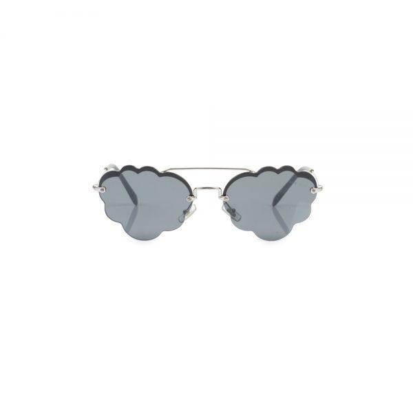 Grey Cloud Shaped Sun Glasses by Miu Miu - Le Dressing Monaco