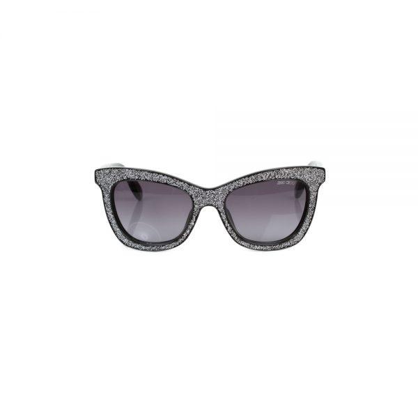 Silver Glitter Sun Glasses by Jimmy Choo - Le Dressing Monaco
